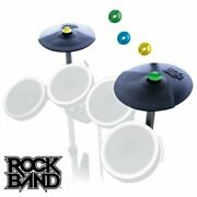Cymbal Band Rock Double Kit Expansion Wii Ps3 Xbox 360 Playstation New Nintendo