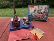 Vintage Wilesco D10 Toy Model Live Steam Engine Accessories Instructions Wrench