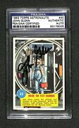 John Glenn Signed Autographed 1963 Topps Astronauts 40 Rookie Card Rc Psa/dna