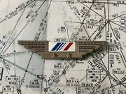 Badge Broche Pin Wings Crew Compagnie Air France Vintage Coinderoux 2 Andeacutetoiles
