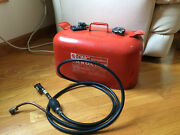 Vintage Omc Accessories 5 Gallon Marine Outboard Motor Gasoline Can Clean Inside