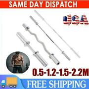Cross Training Weight Lifting With Hole Olympic Weightlifting Bar Pole Us