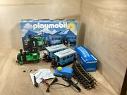 Rare Vintage Playmobil 4005 Passenger Train Car Express W/ Box Almost Incomplete