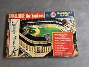 Complete 1964 Hasbro Challenge The Yankees Baseball Game W/ All 50 Cards Mantle