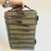 Tackle Box Double Deck Large Capacity Portable Outdoor Travel Fishing Accessory