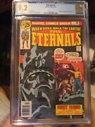 Eternals 1 Cgc 9.2 White Pages Origin And 1st App Of The Eternals Mcu Movie Key