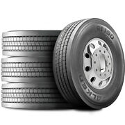 4 Tires Falken Ri150 285/75r24.5 Load H 16 Ply All Position Commercial