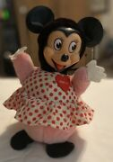 Vintage Gund Minnie Mouse Roly Poly Chime Musical