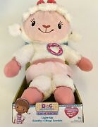 New Doc Mcstuffins Cuddles And Hugs Lambie Talking 11 Stuffed Animal Toy