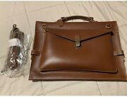A.p.c Genuine Leather Briefcase/computer Bagnwot
