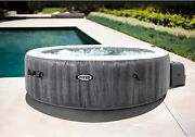 6 Person Deluxe Greywood Jacuzzi Hot Tub Spa Bubble Jets Filter W/ Outdoor Cover
