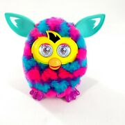 Furby Pink Blue Purple Fuzzy Interactive Pet Toy Yellow Tail 2012 Hasbro -works
