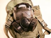 Avon M-50 Gas Mask With Bag Military Issued Never Used Size Small