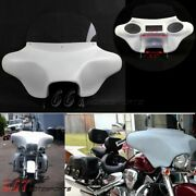 Detachable Batwing Fairing 6x9 Speakers Stereo For Harley Road King Flhr 1994-21