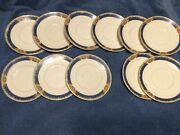8 Saucers And 3 Bandb Plates Wm Grindley And Co.georgian Ivorie England Chelmsford
