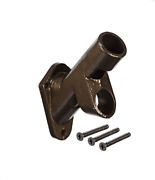 Evergreen Flag Two-position Cast Iron Bronze Flag Pole Bracket For Your Flag For