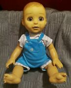 Luvabella Luvabeau Boy Interactive Realistic Doll Toys R Us Exclusive Used