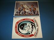 Nasa Space Shuttle Serial Photo Original Sts 9 Crew And Patch Photos 1983