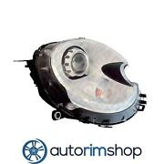 Left Driver Headlight Lens And Housing For 2011-14 Mini Cooper Clubman Mc2502116