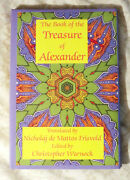 The Book Of The Treasure Of Alexander Hardcover Christopher Warnock Magic Le Oop