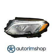 Left Driver Headlight Lens And Housing For 2016-2017 Mercedes Gle400 Mb2518106