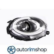 Left Driver Headlight Lens And Housing For 2016-19 Mini Cooper Clubman Mc2502119