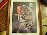 Alan Shepard Signed Autograph 8x10 Personalized