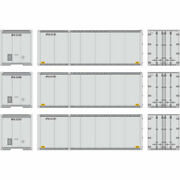 Athearn 17430 Ho United Parcel Service 28' Containers Rtr 3 3