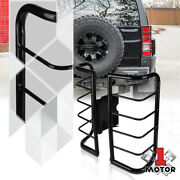 Black Stainless Steel Tail Light/lamp Guard Protector Cover For 06-10 Hummer H3