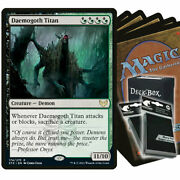 Standard Green Black Witherbloom Magic The Gathering Deck With Sleeves And Box