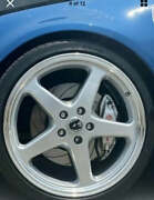 """4x Brand New Walky 20"""" Staggered Wheels And Tyres Holden Vz Vy Vt Vl Vu Ve"""