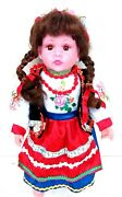 Collectible-children's Doll- Ukrainian National Style.sings A Song About Ukraine