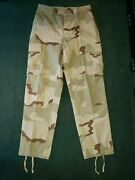 Us Military 3 Color Desert Camouflage Trousers Pants Medium Long Army Militia