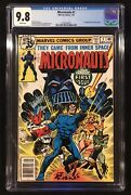 Micronauts 1 Cgc 9.8 White Pages Newsstand Variant 1st Baron Karza And Bug