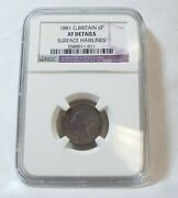 Ngc 1881 Great Britain Queen Victoria Silver Sixpence Xf Details