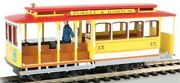 Bachmann 60538 Ho Yellow And Red Cable Car With Grip Man