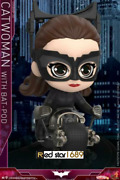 Hot Toys Cosbaby Catwoman W/batpod Ht Puppet Cosb725 Figure Model Doll Toys