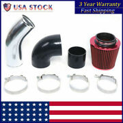 3 Inch Universal Red Cold Air Intake Pipe Kit For Gm Ls1 Lsx Lmx Lqx Motor