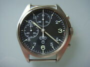 Cwc British Military Watch Pilot Chronograph Manual Movement Authentic