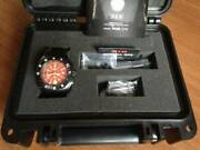 Mtm Special Ops Military Divers Red Worrier Analog Quartz Menand039s Watch New Unused