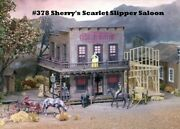 Campbell Scale Models 378 Ho Sherry's Scarlet Slipper Saloon