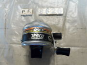 T8626 Pf Zebco Spinner 33 Fishing Reel Made In Usa Metal Foot Works Good