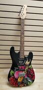 Six Flags Ed Hardy Electric Guitar Model G10-200 - Strat Style