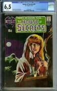 House Of Secrets 92 Cgc 6.5 White Pages // 1st Appearance Of Swamp Thing 1971