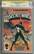 Marvel Super Heroes Secret Wars 8 Cgc 9.8 White Pages // Signed Zeck/beatty