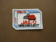 Wacky Packages Series Embroidered Cloth Patch Patches - Jail-o Jailo