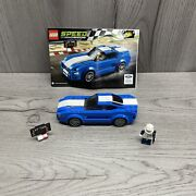 Lego 75871 Speed Champions Ford Mustang Gt With Instructions