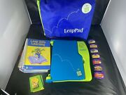 Leap Frog Leap Pad Learning Game System With Backpack 9 Books And 7 Cartridges Lot
