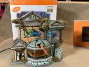 Dept 56 Halloween Snow Village Animated Monsters Of The Deep With Original Box