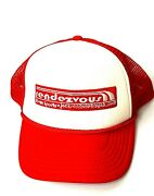 Rendezvous Sports Bar Truckers Hat Jackson Hole Kayak New W/o Tags